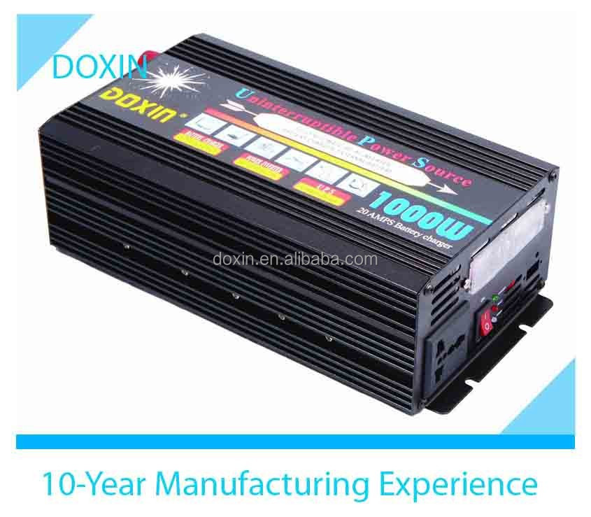 dc to ac off-grid power inverter 1000w ups solar charger inverter