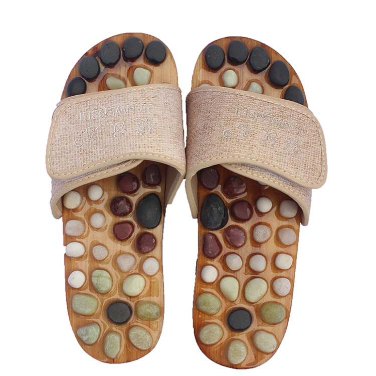 Hot sale health care foot reflexology massage slippers product