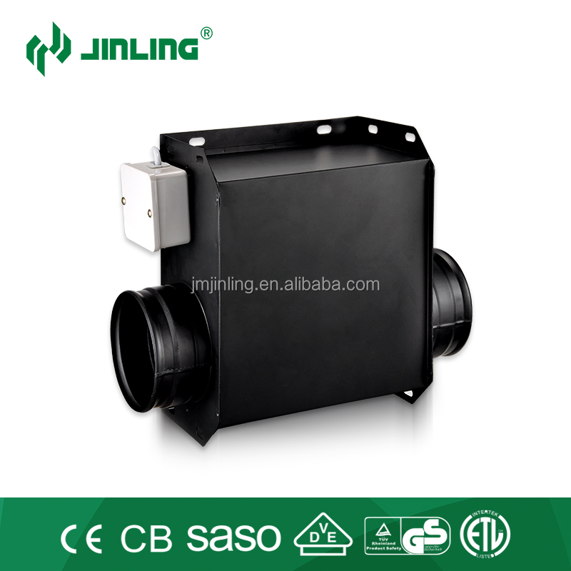 Jinling 4/5/6 inch full metal in-line exhaust fan