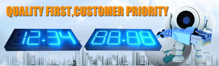 16inch 7segment Digital LED Gas Price Sign
