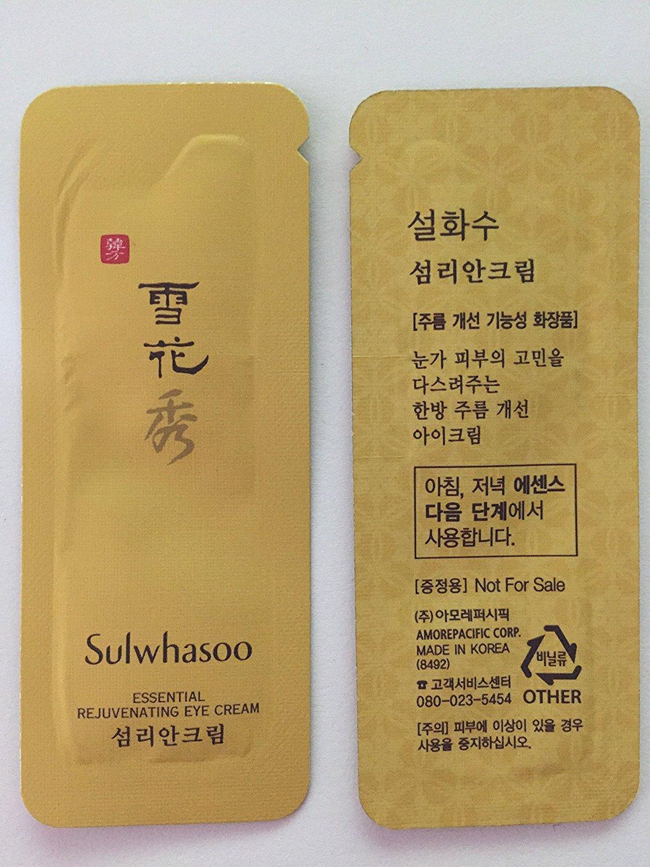 30X Sulwhasoo Essential Rejuvenating Eye Cream 1ml. Super Saver Than Normal Size