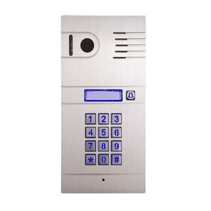 IP video intercom wifi for remote controlling via App on smartphone,supporting 2 way communication system