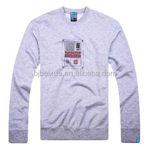 Heavy Blend OEM Custom Crewneck <strong>1</strong> 4 <strong>zip</strong> sweatshirt 100 cotton crewneck sweatshirt