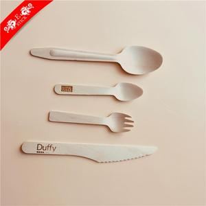 Low price daily using high quality wooden cutlery box for gift