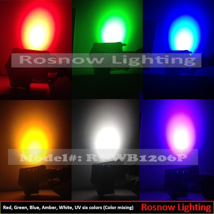 Built In Battery Powered Wireless Dmx Led Wall Washer / Uplighting ...