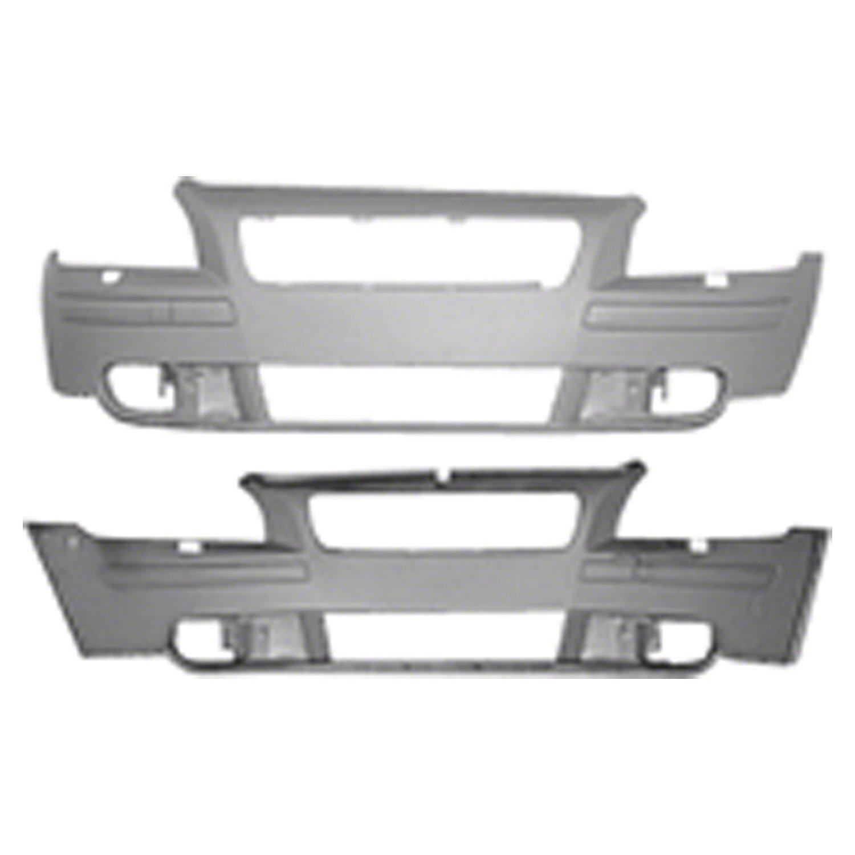Crash Parts Plus Primed Front Front Bumper Cover for Volvo S40, V50 VO1000148