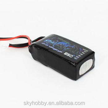 Small RC Lipo Battery batteries For Mini Helicopter & RC Plane & Drone 850mah 3 cell 3s 11.1V 30C From China Factory