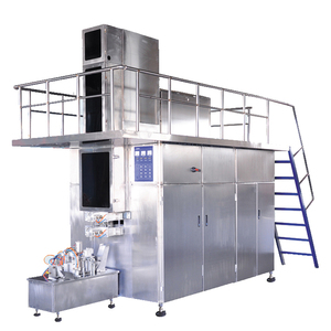 Automatic Yogurt Milk Packing Machine Aseptic 250ML Carton Filling Machine For Juice