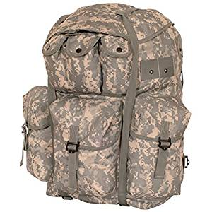 Ultimate Arms Gear ACU Terrain Army Digital Camo Camouflage Large A.L.I.C.E. Field Pack Backpack