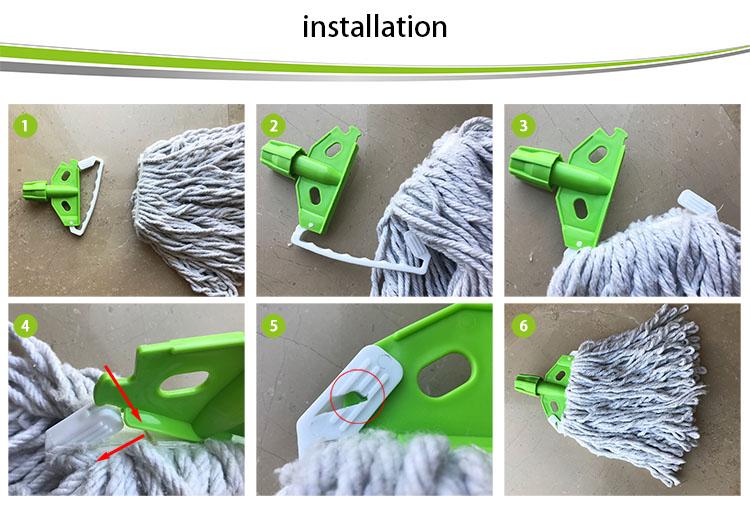 Strong mop head mop clean ผ้าฝ้ายสำหรับห้องครัว