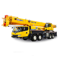 XCMG Brand 70 ton hydraulic lifting truck mobile crane with 59.5m QY70K-I