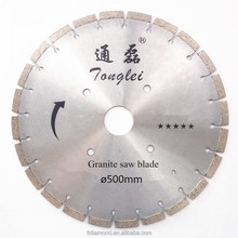 "500mm 20"" diamond separation disc for granite stone asphalt cutting"
