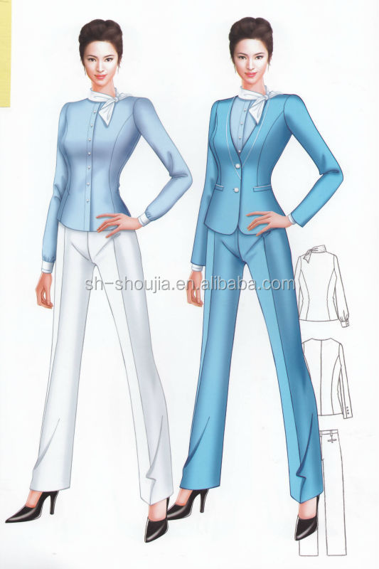 Casual Office Uniform,Ladies Office Uniform,Girls Business ...