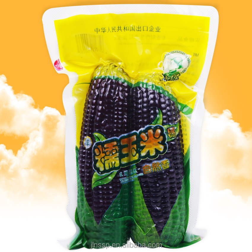 China Purple <strong>Corn</strong> on the Cob with vacuum packaged