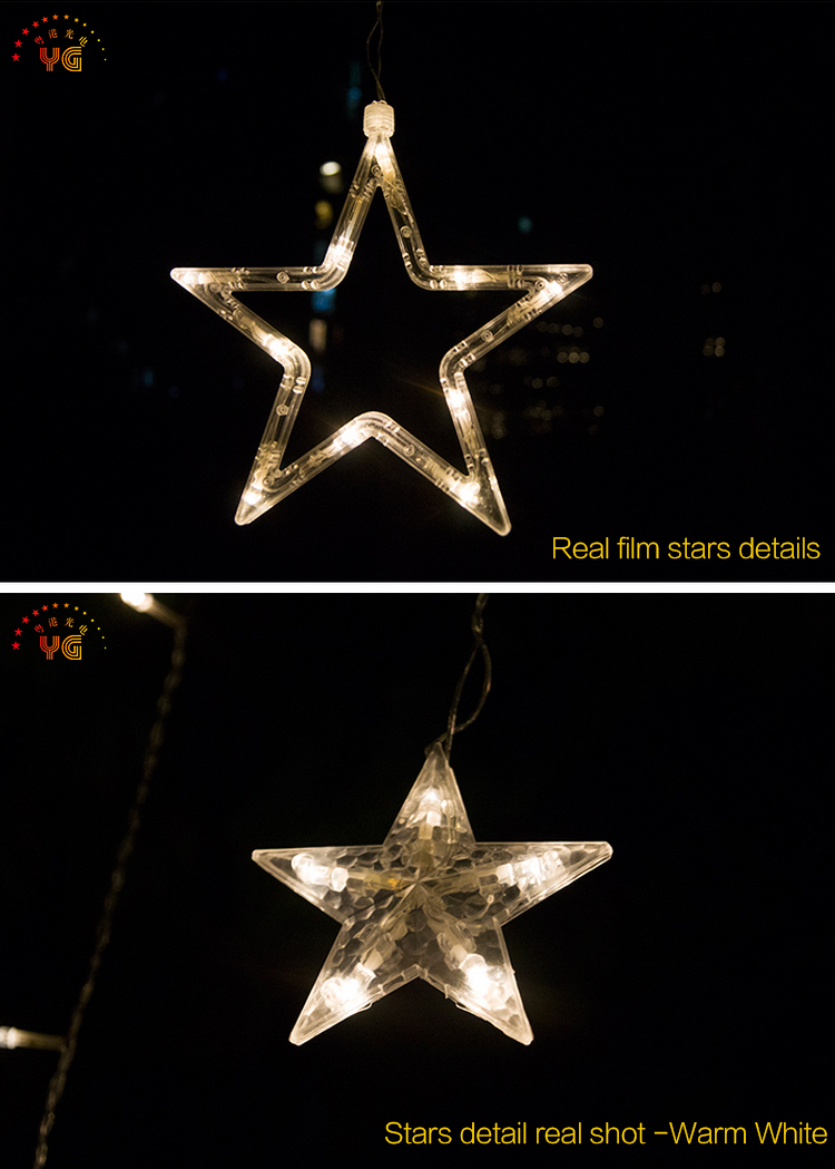 Electric Star String Lights : Outdoor Christmas Plastic Stars Lights String Lights Dubai Plastic Star Shaped Led Light - Buy ...
