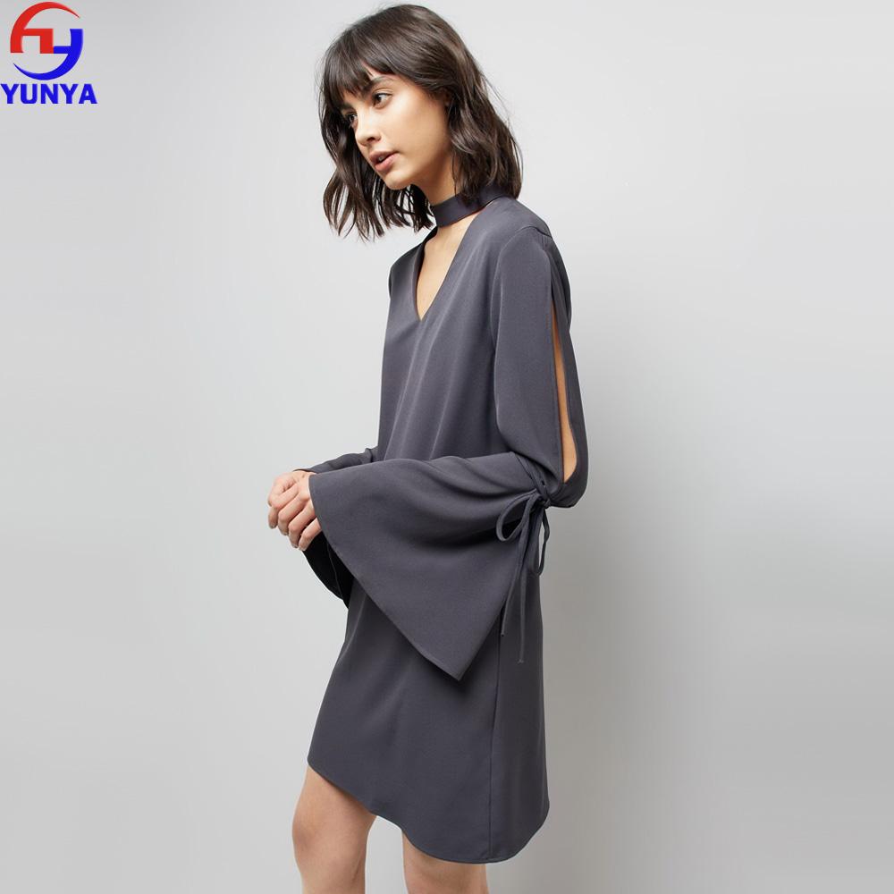 cf8db6cb7bfc Latest Designs Dongguan Clothes Supplier Wholesale Women Elegant ...