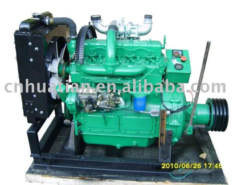 Diesel Engine with Belt Pulley 44kw/60hp