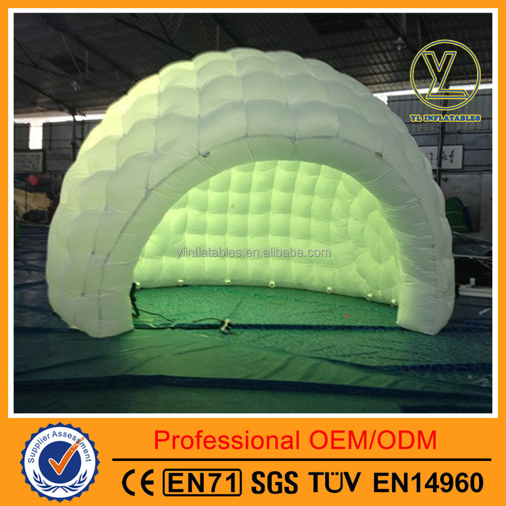 Widely-used outdoor and indoor white inflatable marquee