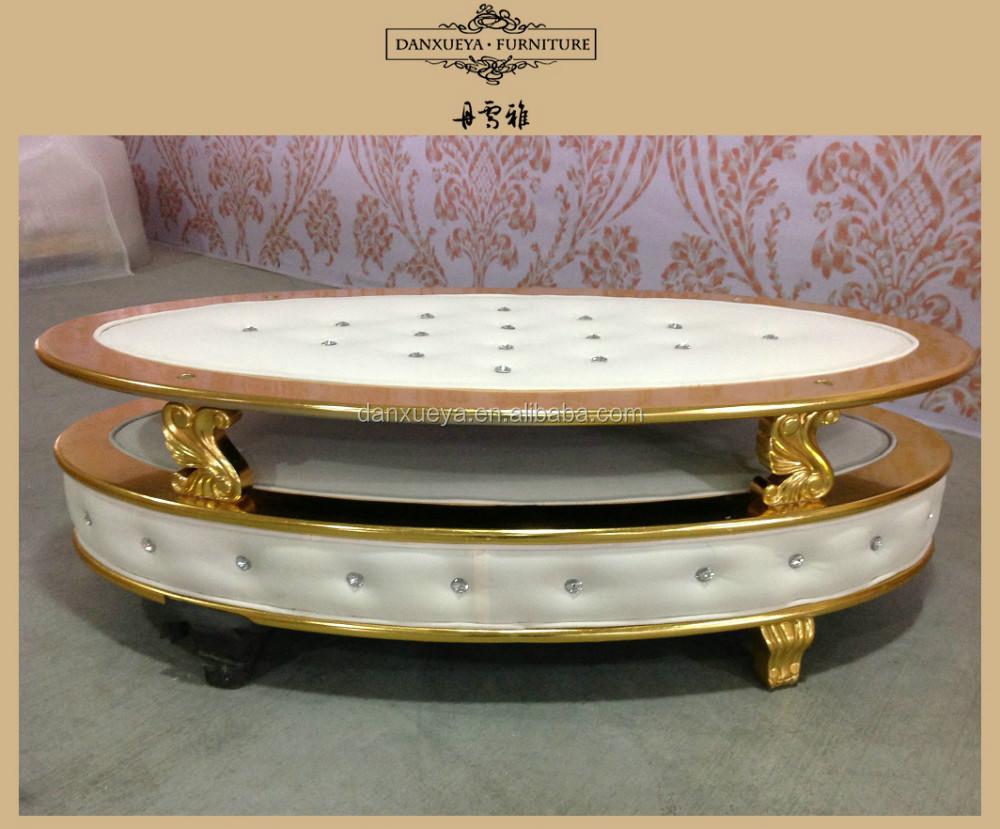 Unieke meubels ontwerp, luxe elegante kristallen knop salontafel ...