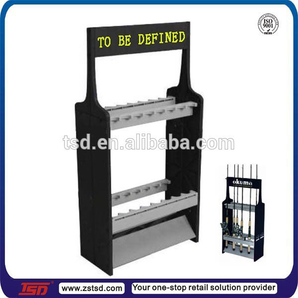 Exhibition Stand Gumtree : Fishing rod display stand fsing rack portable