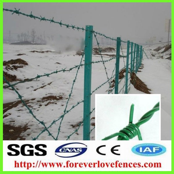 Weight of barbed wire price per roll meter length for sale philippines Made in China