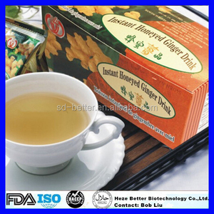 Hot Sale Instant Honey Ginger Tea Granules, Red Ginger Tea, Instant Honeyed Ginger Aloe Drink