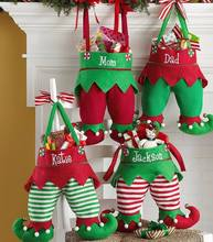 Personalized Blank felt Christmas Elf stocking