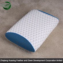 High Quality Summer Ice Fabric Mesh Fabric PU Cool Neck Pillow