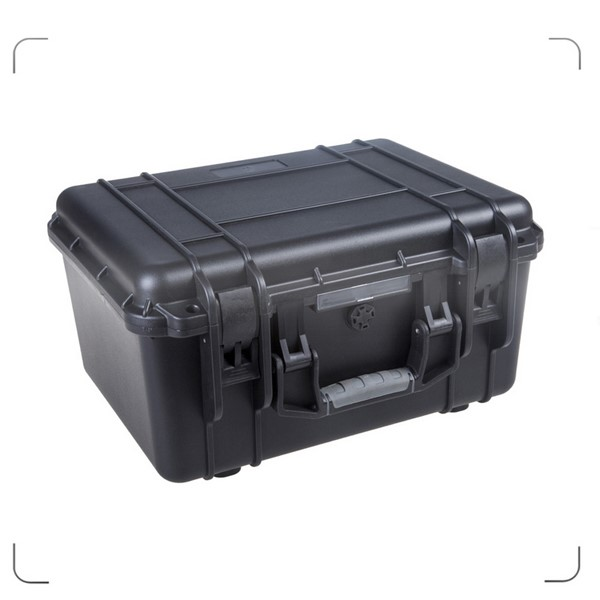 New arrive professional high quality strong waterproof shockproof plastic flight case with handle and foam