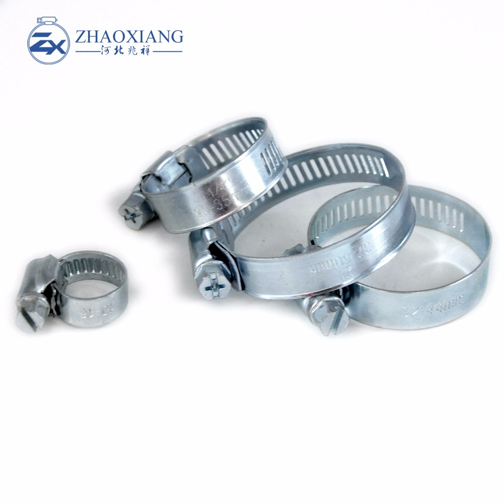best price perforated hose clamp sizes chart factory