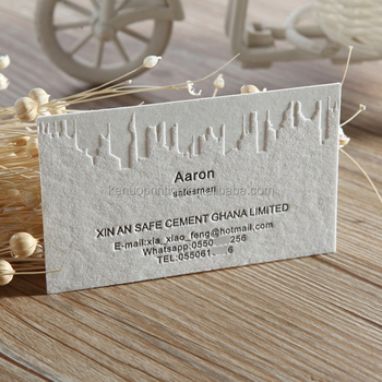 fancy paper high quality custom luxury business cards embossed printing - Fancy Business Cards
