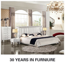 White Leather Bedroom Set, White Leather Bedroom Set Suppliers and ...