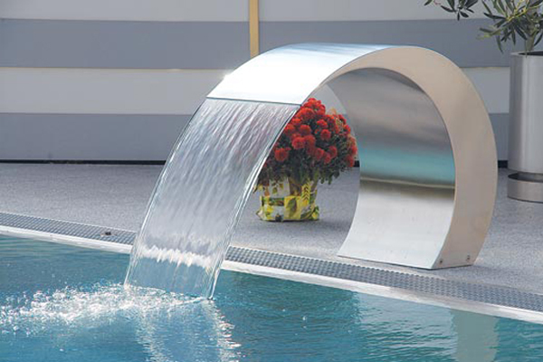 Edelstahl schwimmbad dekoration wasserspeier buy pool dekoration wasserspeier wasserfall - Pool dekoration ...