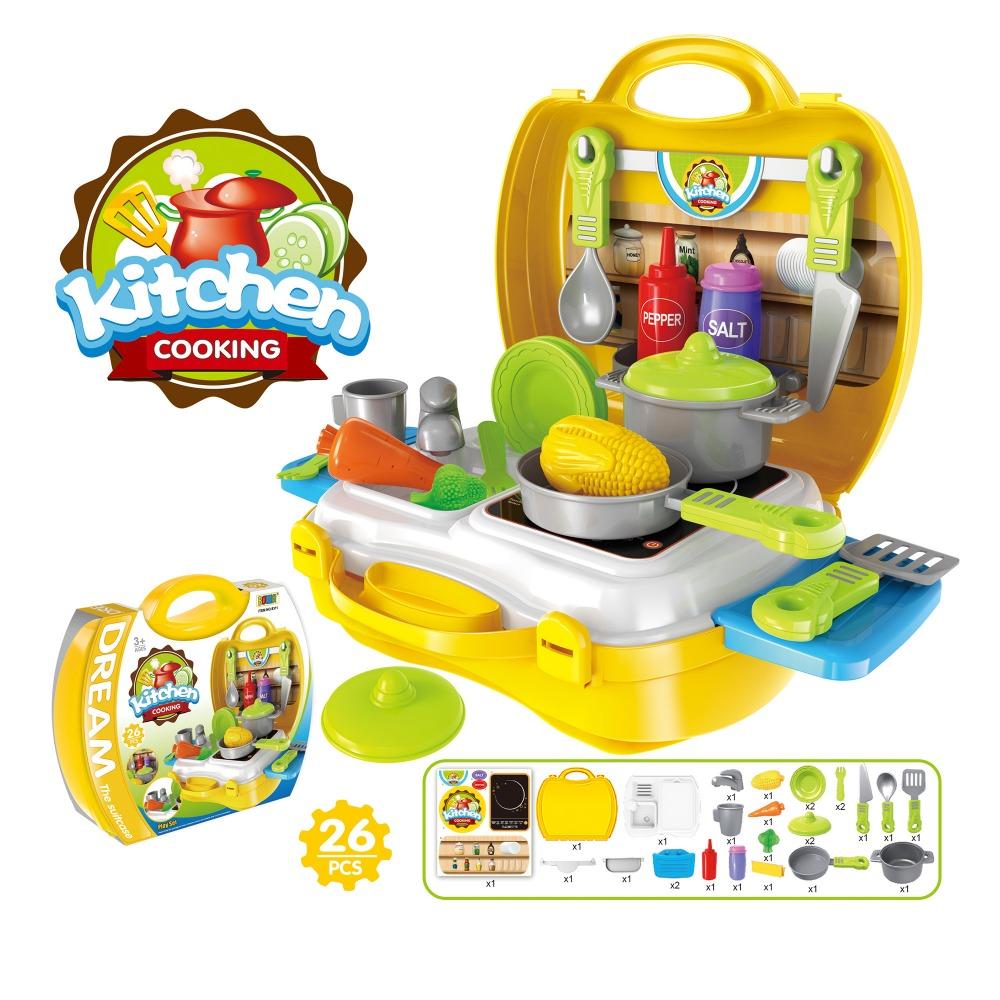 Kunststoff schöne täuschen spiel-küche spielzeug geschirr set mit ...