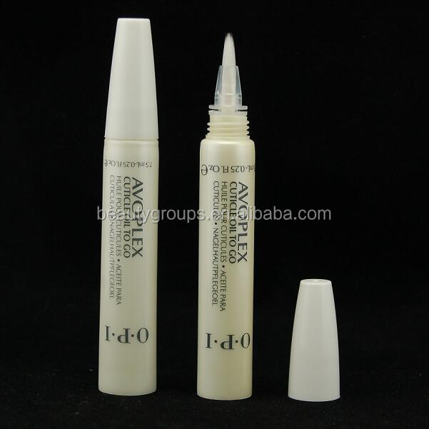 16mm Diameter cosmetic plastic PE tube with sponge tip applicator