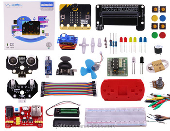 Yahboom Hot sale python programming stem educational BBC micro:bit starter kit with course microbit