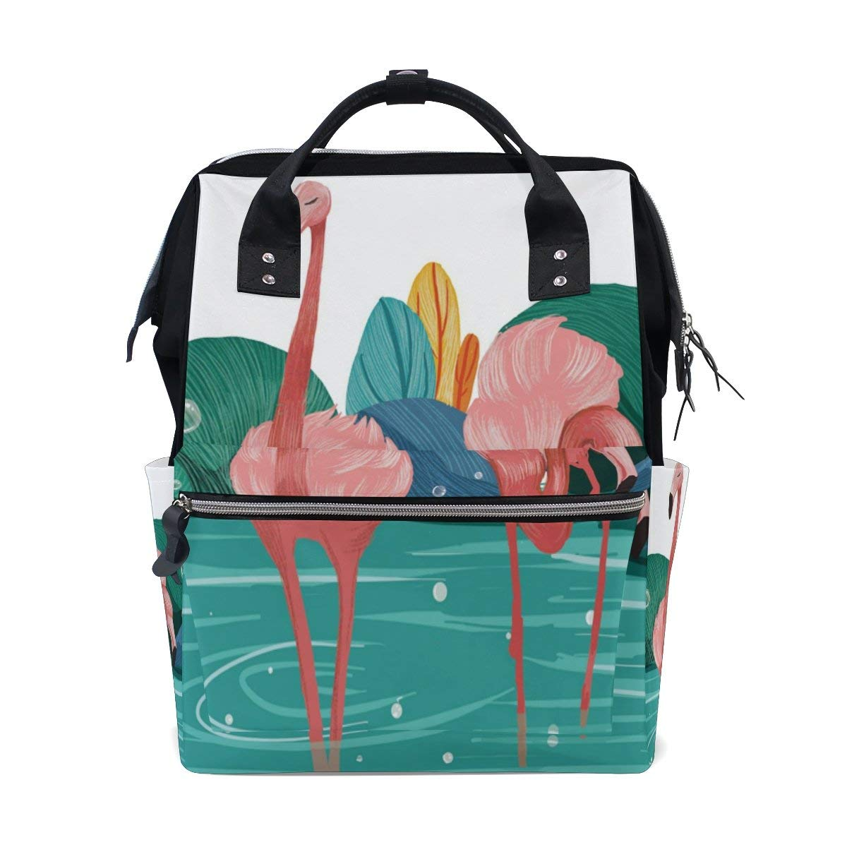 Diaper Bags Backpack Purse Mummy Backpack Fashion Mummy Maternity Nappy Bag Cool Cute Travel Backpack Laptop Backpack with Fantasy Meteor Daypack for Women Girls Kids