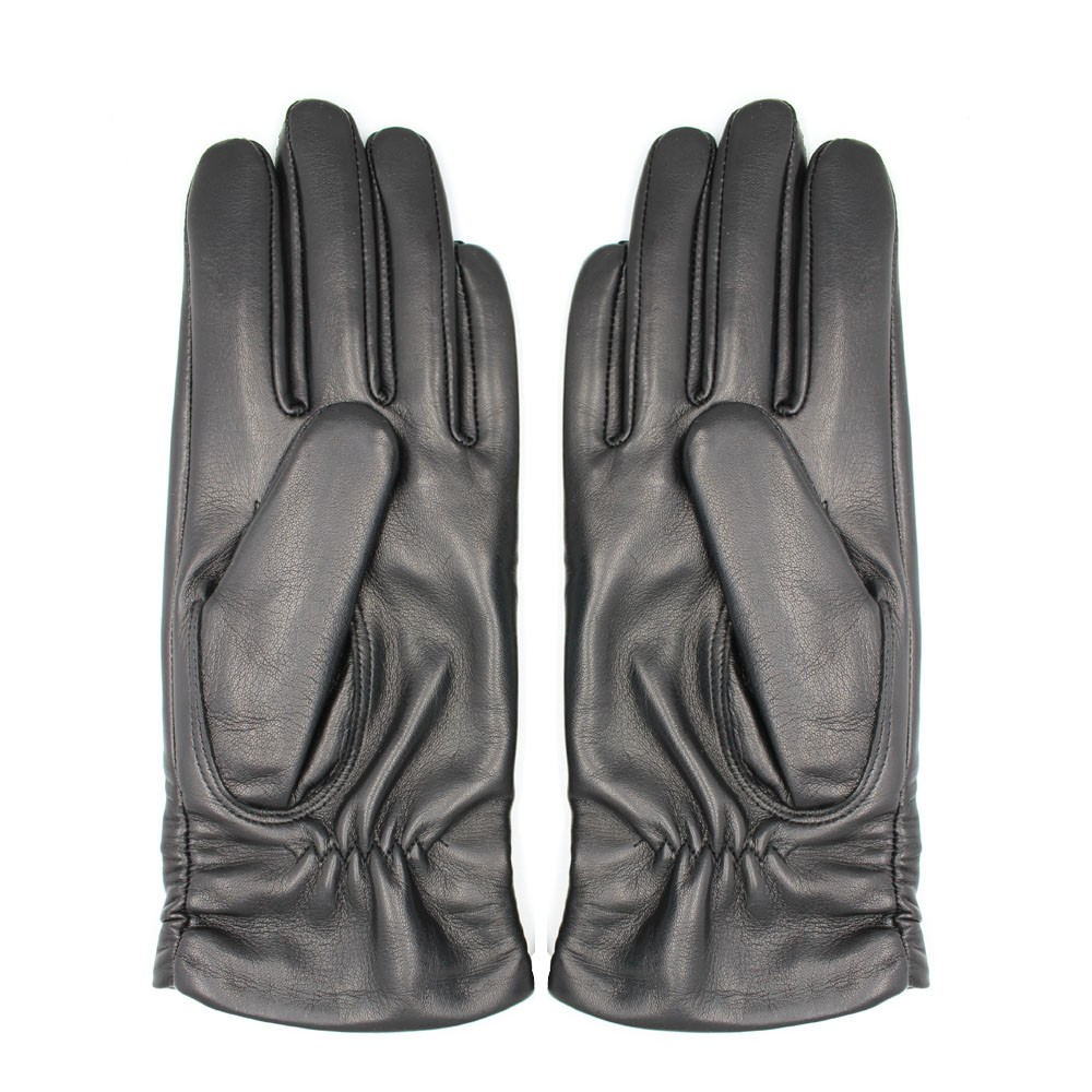 ladies leather gloves party dress leather glove crystal leather glove