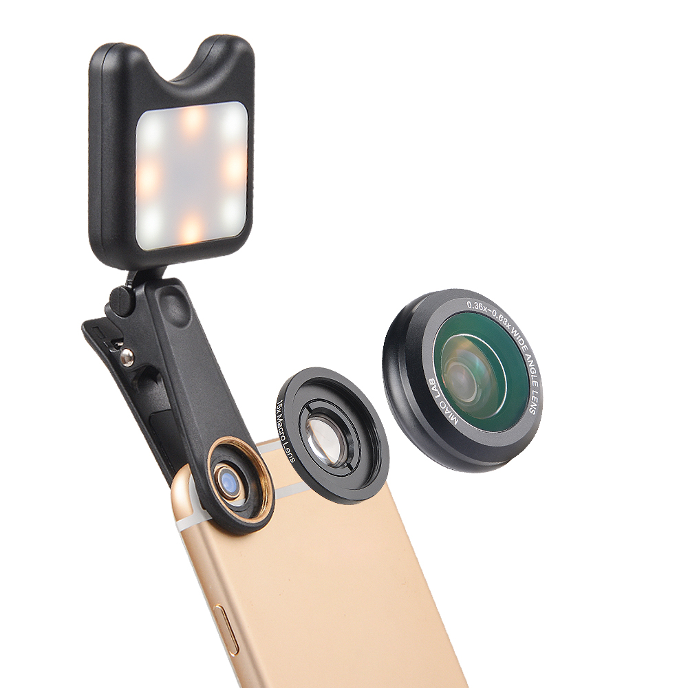 2017 newest accessories for iphone camera lens clip HD wide angle micro lens for all kind of smart phone