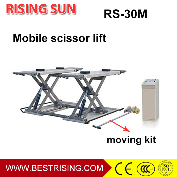 Scissor design portable car lift equipment