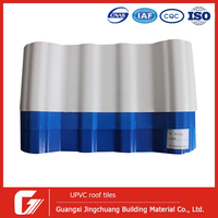 Easy installation Customized layers insulated PVC ceiling tile Upvc panel wall covering pvc gypsum house corrugated sheet