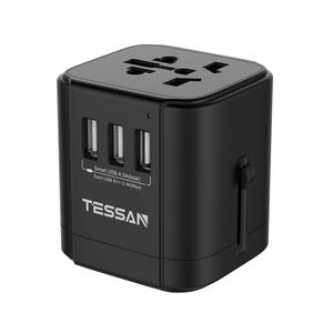 Promotional gift portable fast smart plug mobile accessories phone charger universal travel adapter