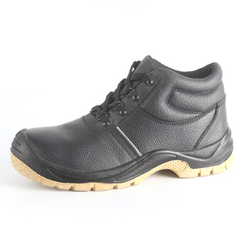 1a64b68cd973 Black executive non slip oil resistance work safety shoes