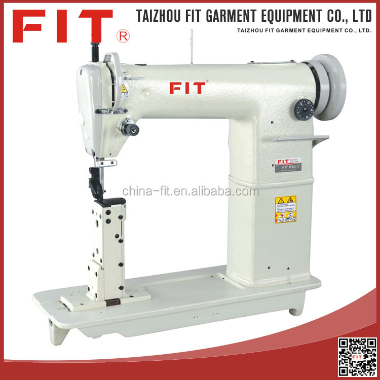 industrial single /double needle post-bed domestic lockstitch sewing machine
