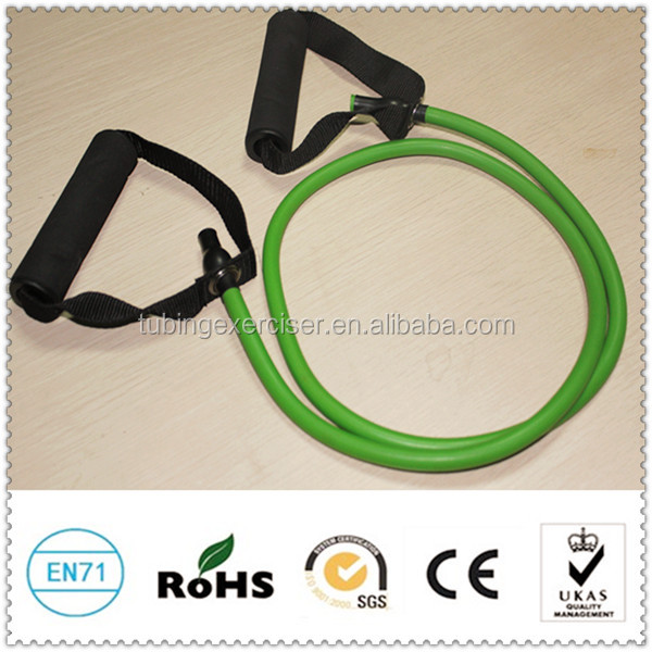 High quality soft expander elastic tube band fitness