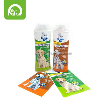 PVC di alta Qualità di Calore Shrink Sleeve Per Pet Shampoo
