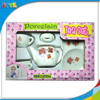 A615040 Kid Drinkware Decoration Ceramic Tea Cup Tea Set Porcelain Small