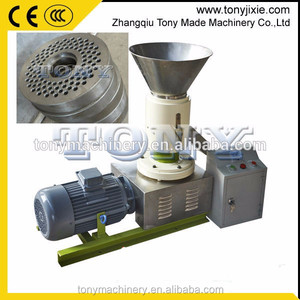 Small Wood Sawdust Pellet Machine/Flat Die Pellet Press/Pellet Granulator