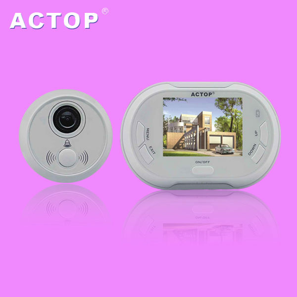 Easy Install  3.5inch Doorbell Viewer Digital Peephole Door Viewer Camera