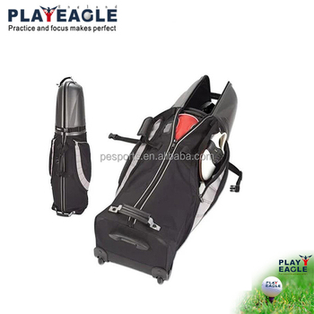 2018 New Fashion Golf Travel Bag With Wheels Hard Top Babybag 4 Colors Folding